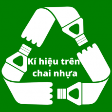 Kí hiệu trên chai nhựa